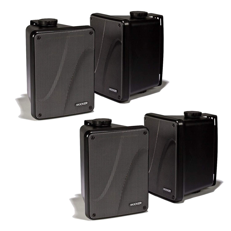 Kicker KB6000 Outdoor Speakers 11KB6000B