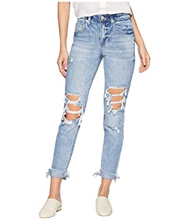 The Rivington Hi Rise Tapered Leg Denim Jeans in Jackpot