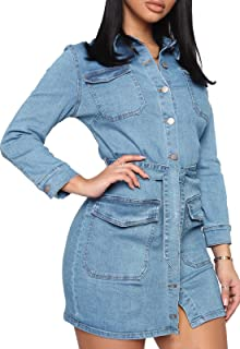 Women's Jean Jackets Oversized Vintage Denim Jackets with Studs