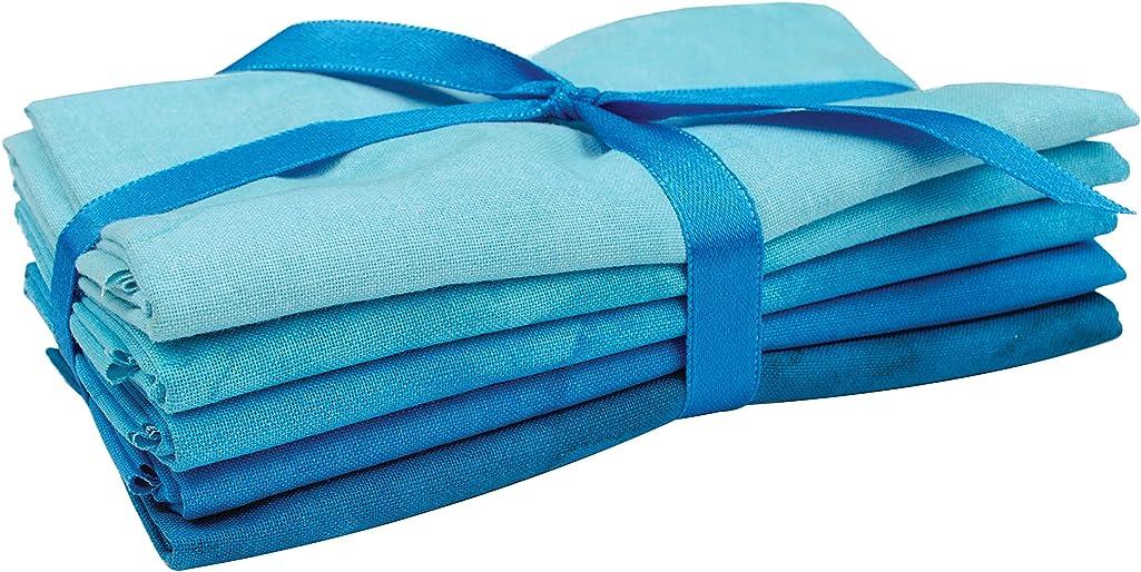 Fabric Editions PC267217 Quilter's Palette Precut Fat Quarter Bundle 18