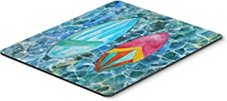 Caroline's Treasures BB5366MP Surf Boards on The Water Mouse Pad, Hot Pad or Trivet, Large, Multicolor