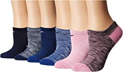 Everyday Lightweight No Show Socks 6-Pair Pack