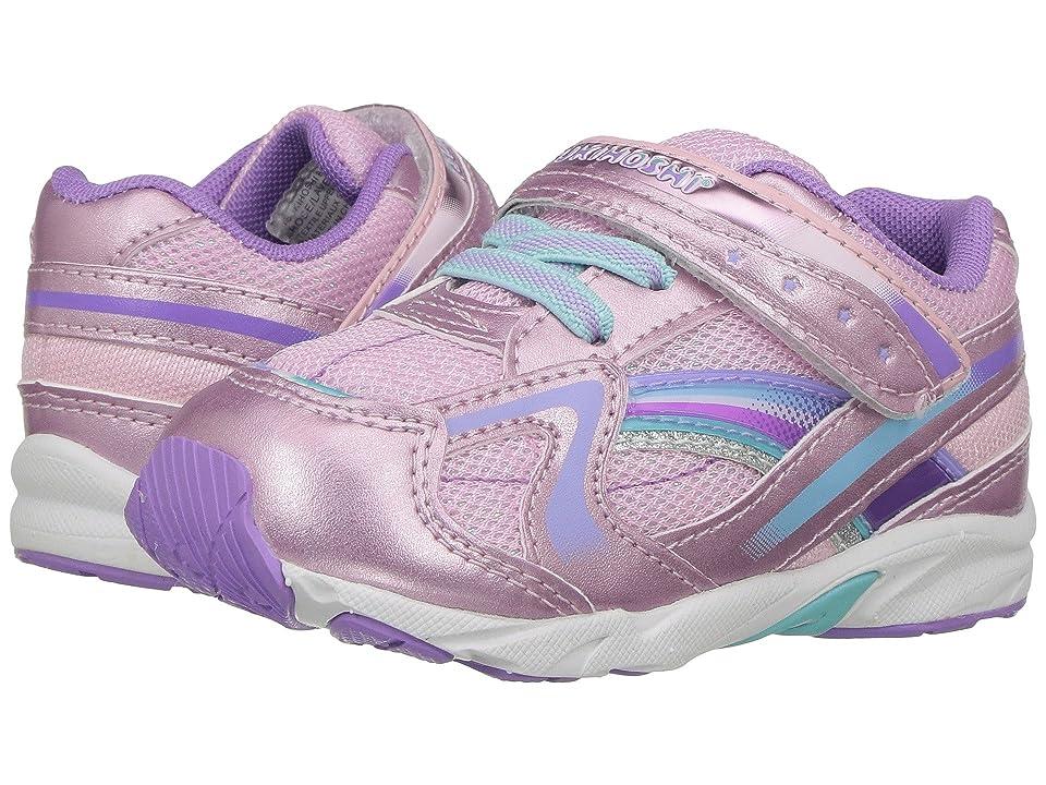 Tsukihoshi Kids B. Glitz (Toddler) (Rose/Lavender) Girls Shoes