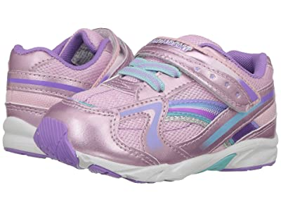 Tsukihoshi Kids B. Glitz (Toddler) (Rose/Lavender) Girls Shoes