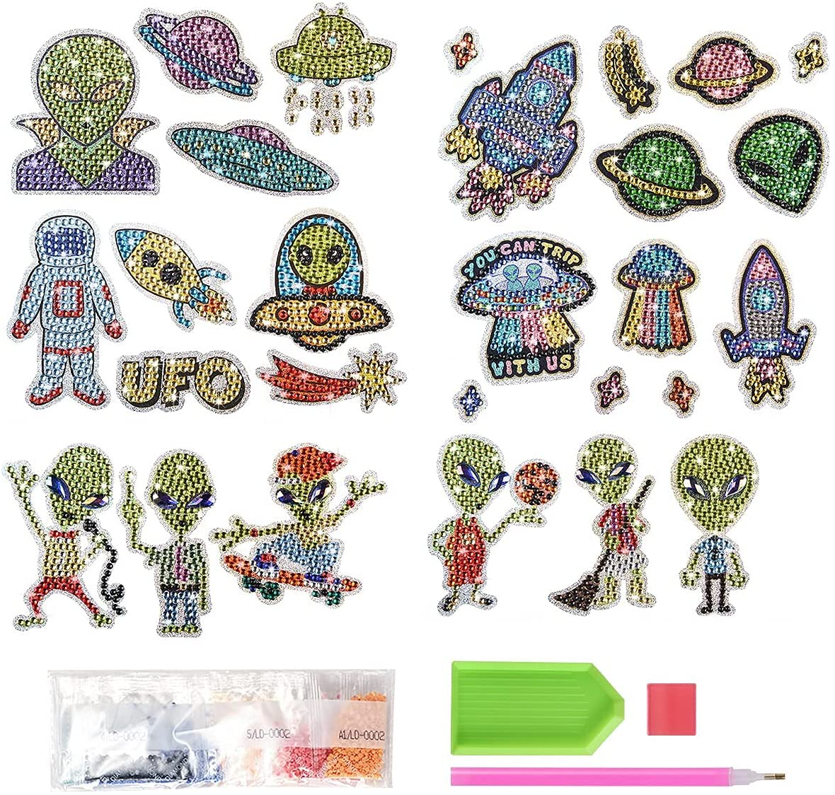 5D Diamond We OFFer at cheap prices Oakland Mall Painting Stickers kit Art Kids for Crafts DIY