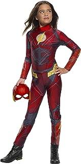 Costume Co - Justice League Girls Flash Jumpsuit