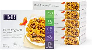 HMR Beef Stroganoff with Noodles Entree, 8 oz. Servings, 6 Count