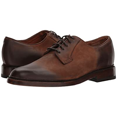 Frye Jones Oxford (Redwood Smooth Pull Up) Men