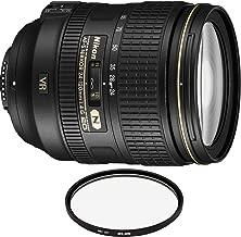 Nikon AF-S NIKKOR 24-120mm f/4G ED VR Lens with Pro Filter (Renewed)
