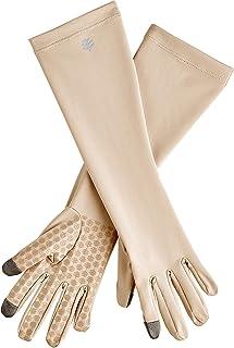Coolibar UPF 50+ Unisex UV Mid-Length Sun Gloves - Sun Protective
