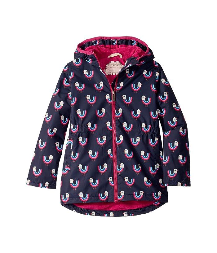 Hatley Girls Sherpa Lined Splash Jackets Rain