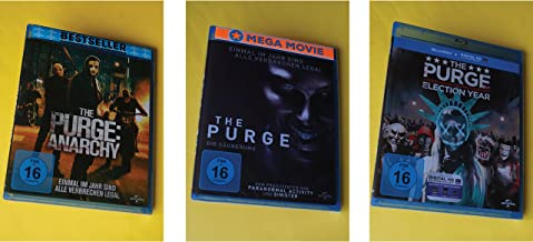 The Purge - Die Säuberung + Anarchy + Election Year / 1-3 Set (Blu-ray)