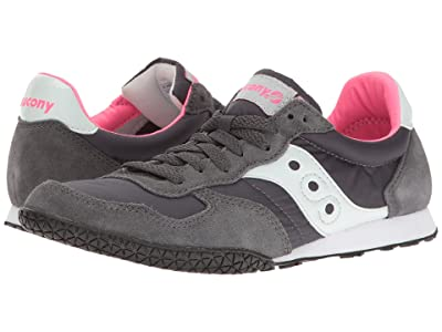 Saucony Originals Bullet (Charcoal/Pink 2) Women