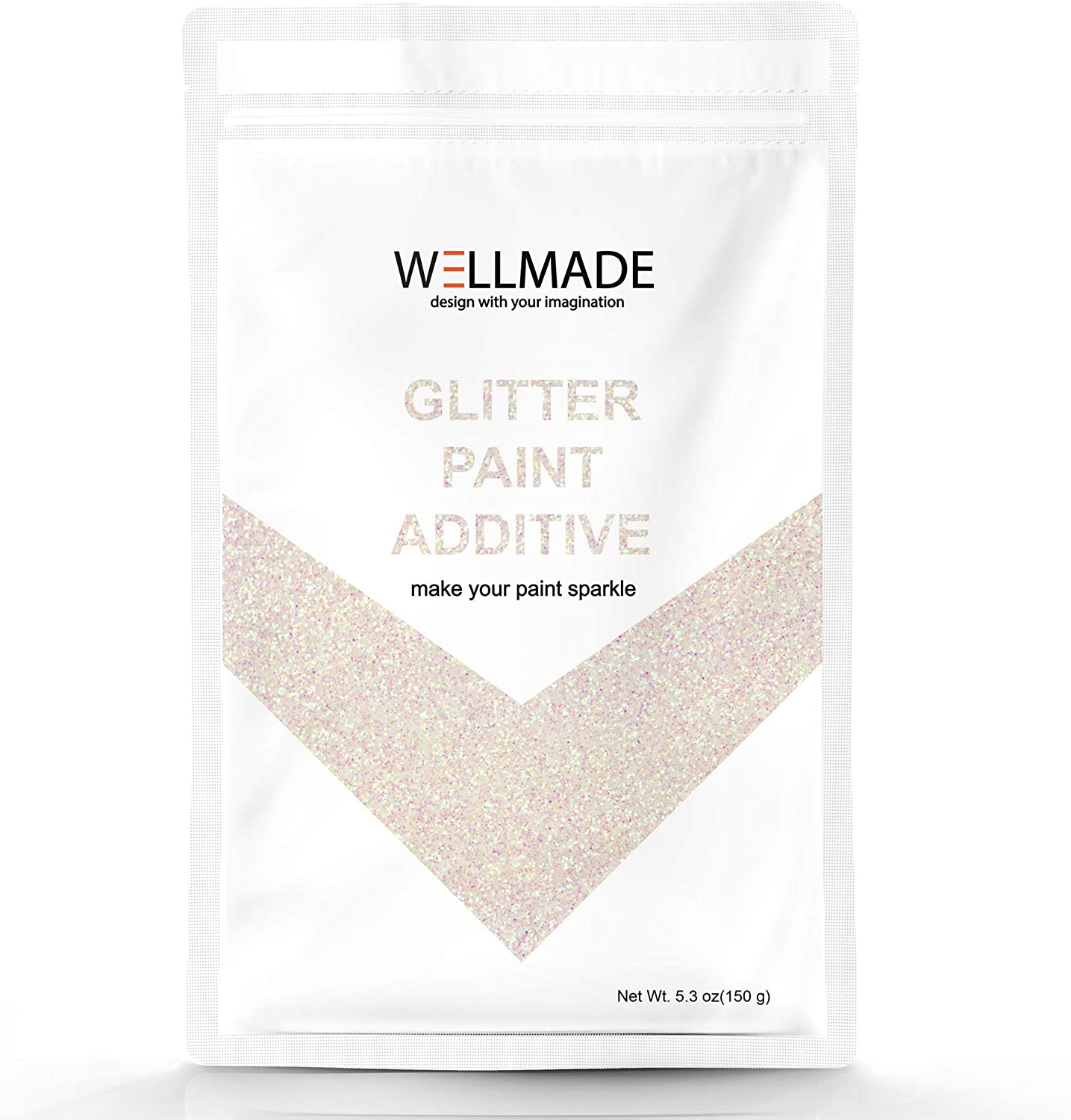 150g 5.3oz Wellmade Glitter Paint Special Max 62% OFF sale item Paint-Interi Wall for Additive
