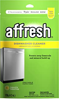 Affresh W10282479 Dishwasher Cleaner, 1 Pack, Yellow