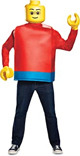 Disguise Inc - Lego Iconic Lego Guy Classic Adult Costume