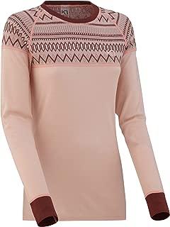 Kari Traa Women's Lokke Base Layer Top - Long Sleeve Wool Thermal Shirt