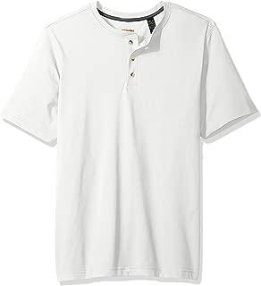 Wrangler Mens Authentics Men's Short Sleeves Henley Tee Short Sleeve Shirt