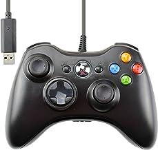 Gam3Gear Compatible Wired Usb Game Pad Controller Joypad For Microsoft XBox 360 Slim Windows Pc Black