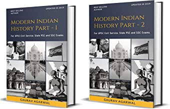 Modern Indian History Part-1 and Part 2 for UPSC, State PCS and SSC Exams