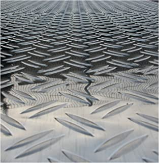 Color Plateado Soporte para macetas Wagner Alaska Chapa estriada de Aluminio