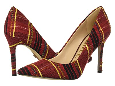 Sam Edelman Hazel (Red Multi British Plaid Fabric) Women