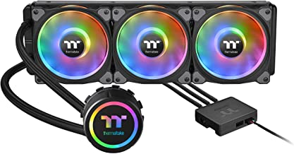 Thermaltake Floe DX 360 Triple Riing Duo 16.8 Million Colors RGB 54 LED LGA1200 AM4 Ready Intel/AMD Liquid Cooling All-in-...