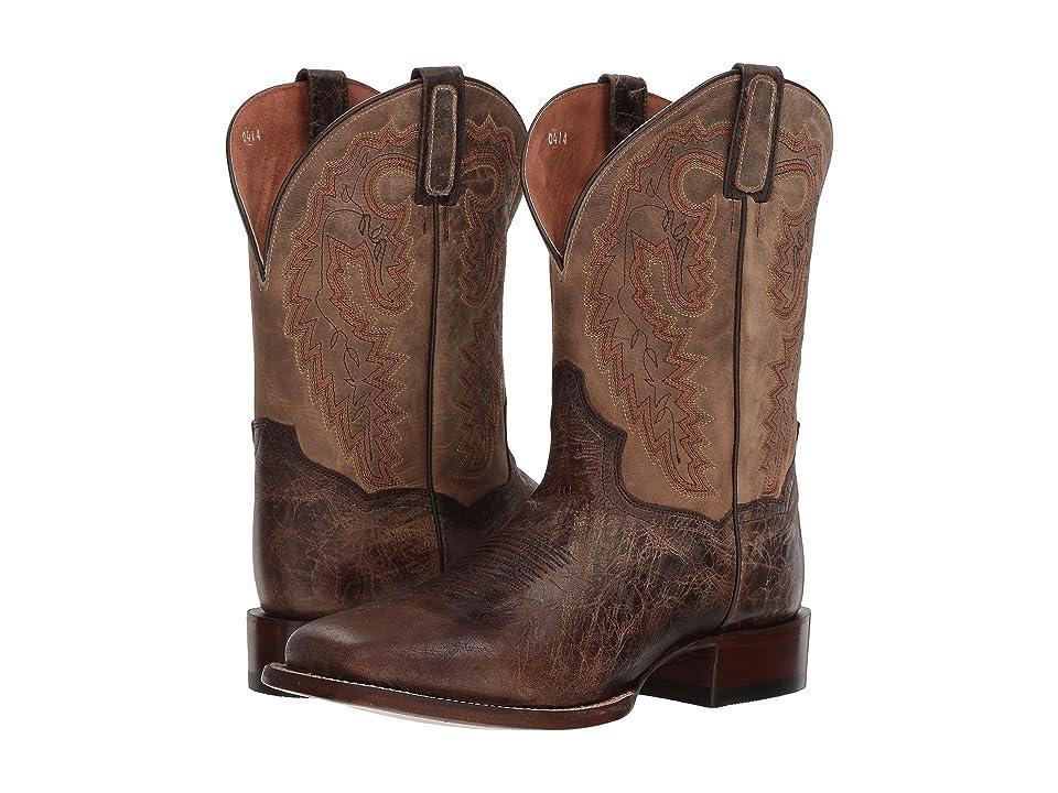 Dan Post Turner (Chocolate/Bone Leather) Cowboy Boots