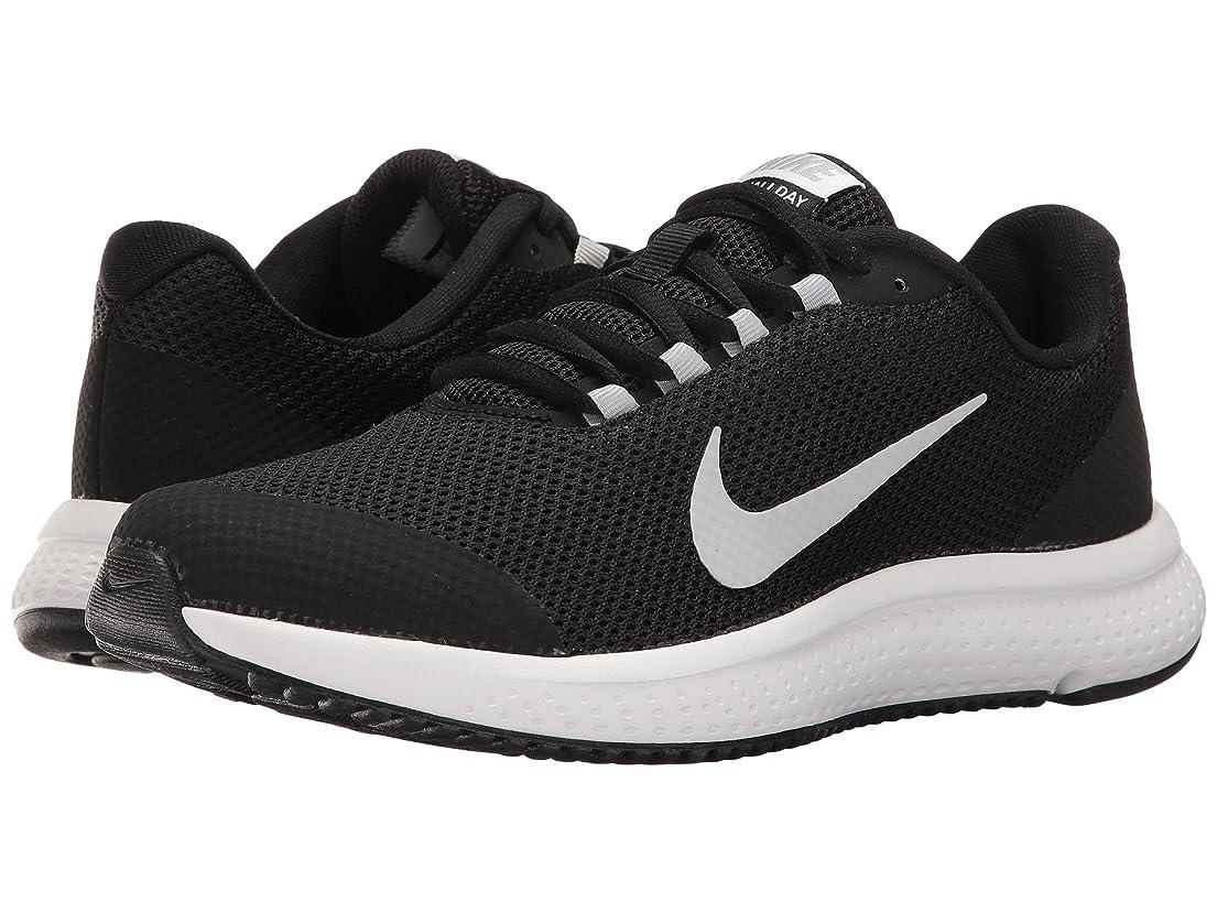 アスペクト症候群亜熱帯(ナイキ) NIKE レディースランニングシューズ?スニーカー?靴 RunAllDay Black/White/Wolf Grey 6 (23cm) D - Wide