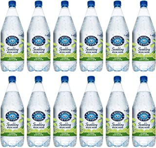 Crystal Geyser Sparkling Spring Water, Lime Flavor, 1.25 Liter PET Bottles , No Artificial Ingredients, Sweeteners, Calorie Free (Pack of 12)