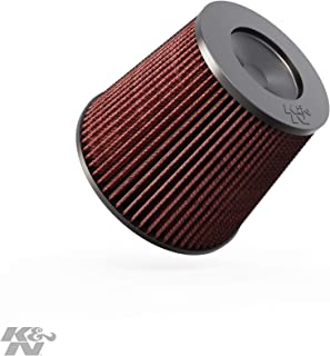 K&N Universal Clamp-On Engine Air Filter: Washable and Reusable: Round Tapered; 6 in (152 mm) Flange ID; 7.5 in (191 mm) Height; 9 in (229 mm) Base; 6.625 in (168 mm) Top ,  RC-5179