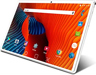 タブレット 10 インチ Android 9.0 タブレット 3G電話タブレット デュアルSimカード 4コアCPU 32GB ROM 1280*800 HD IPS ディスプレイ インターネット授業/仕事用 TFカードで128GBまで拡張可能...