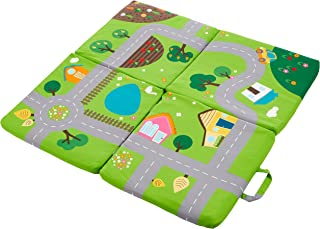 3 in 1 achoka - Play Mat - City - 100x100x4 cm