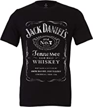 Jack Daniel's Black Label Old No. 7 Brand T-Shirt – Made from Materials – Small - 4X-Large – Official Product