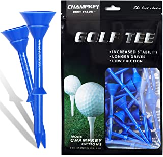 "Champkey Big Cup Plus 3-1/4"" Golf Tees(Pack of 30pcs or 50Pcs) – Oversize Head.."