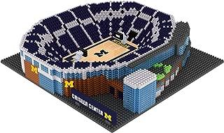 FOCO NCAA Michigan Wolverines 3D BRXLZ Basketball Arena Stadium Building Block Set3D BRXLZ Basketball Arena Stadium Building Block Set, Team Color, One Size