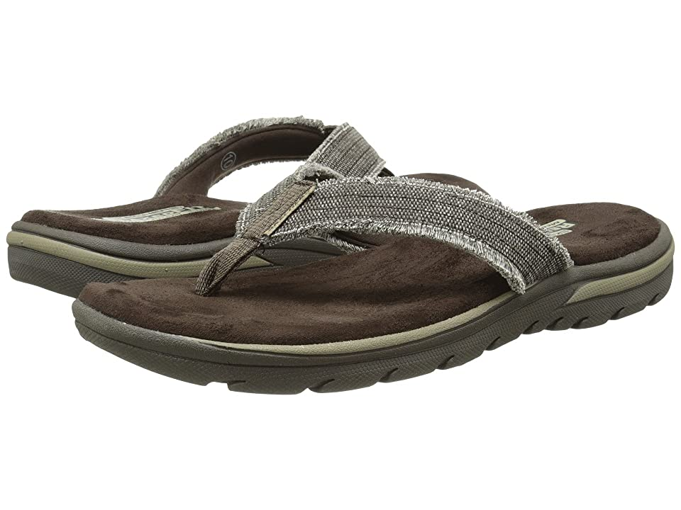 SKECHERS Relaxed Fit 360 Supreme Bosnia (Chocolate) Men