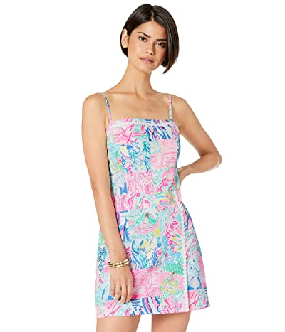 Lilly Pulitzer Jesse Romper (Multi Pop Up Summer Remix Patch) Women