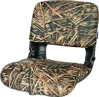 Tempress All Weather High Back Seat, Black Seat/Mossy Oak Shadow Grass Cushion Vinyl