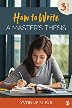 How to Write a Master's Thesis (English Edition)