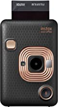 Instax Mini Liplay Hybrid Instant Camera (Elegant Black)
