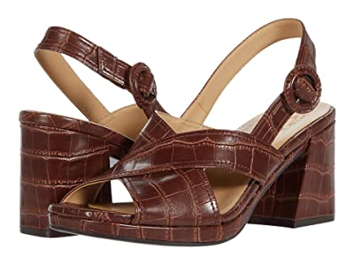 Naturalizer Renly (Lodge Brown Crocco Print Smooth) Women