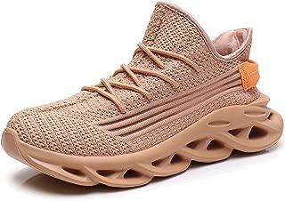 Women's Athletic Walking Shoes Sock Slip On Breathe Comfort Mesh Fashion Elasticity Memory Foam Sole Non Slip Lightweight Running Tennis Sneakers US5.5-10