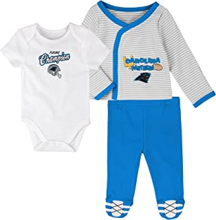 NFL Unisex-Baby Future Champ 3 Piece Onesie, Shirt and Pants Set