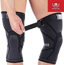 Mava Sports Knee Compression Sleeve Support