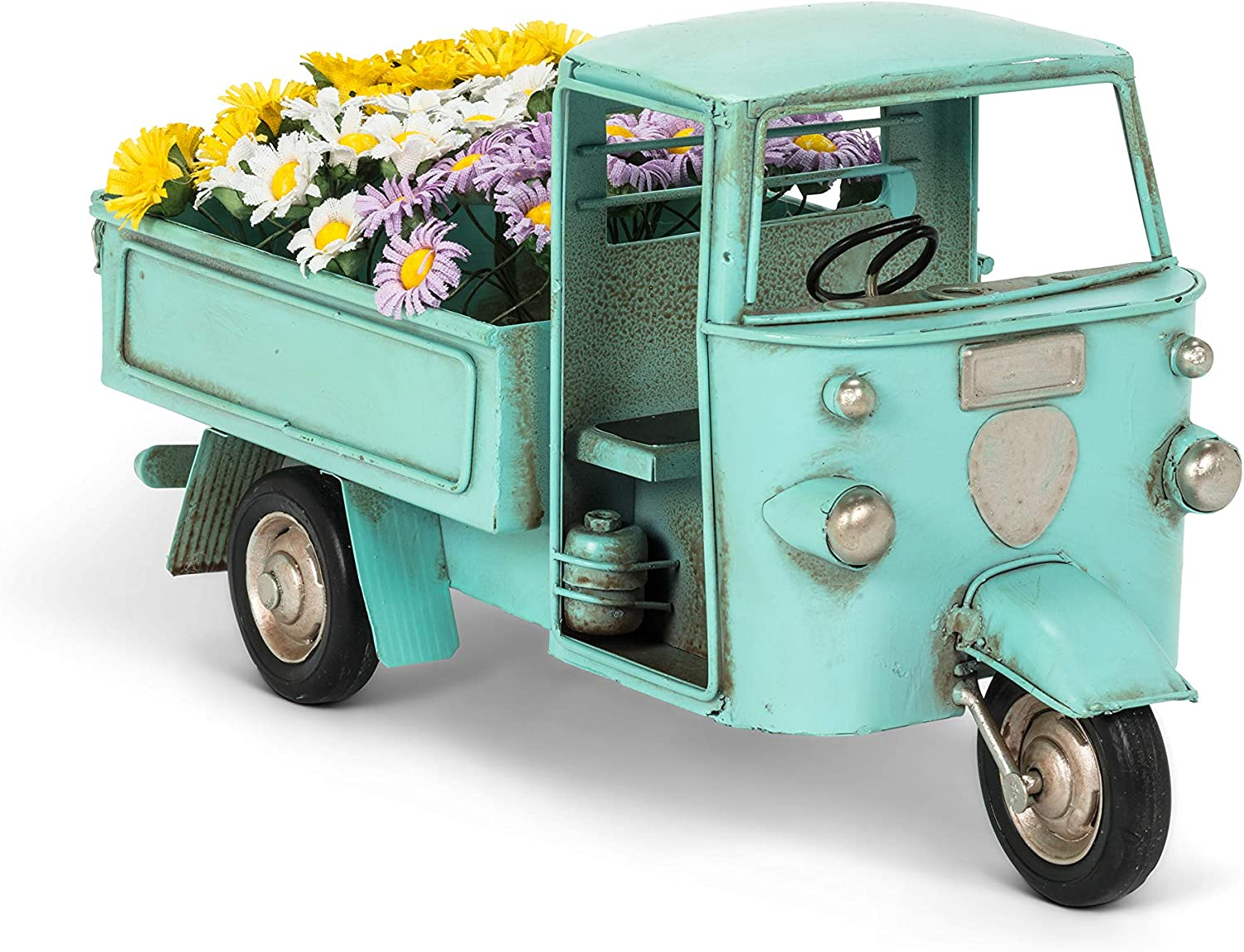 Abbott Collection 27-RIDEAWAY-996 Large 3 Wheel with Truck Flowe Over item handling ☆ Genuine