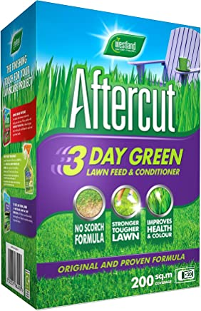 Aftercut 3 Day Green Lawn Feed and Conditioner, 200 m2, 7 kg