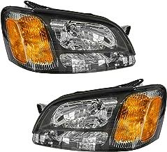 Headlights Headlamps Pair Set for Subaru Legacy GT Baja Outback