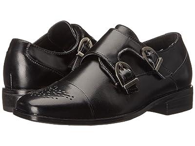 Stacy Adams Kids Trevor (Little Kid/Big Kid) (Black) Boys Shoes