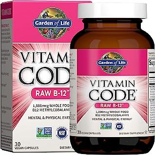 Garden Of Life - Vitamin Code Raw B12 1000 Mcg. 30 Vegetarian Capsules